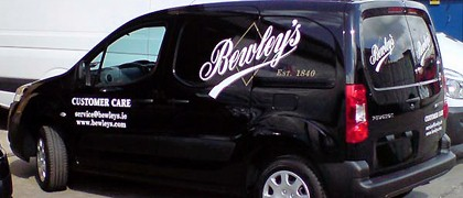 Cut Vinyl Vehicle Signage